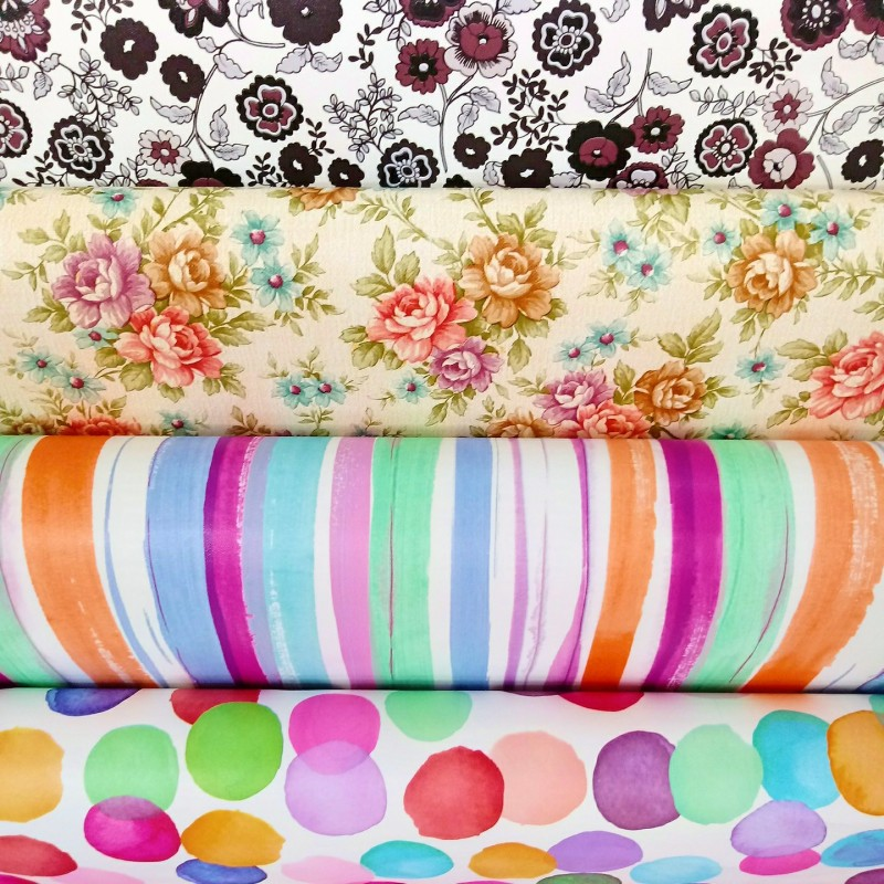 Papel Contact Estampado