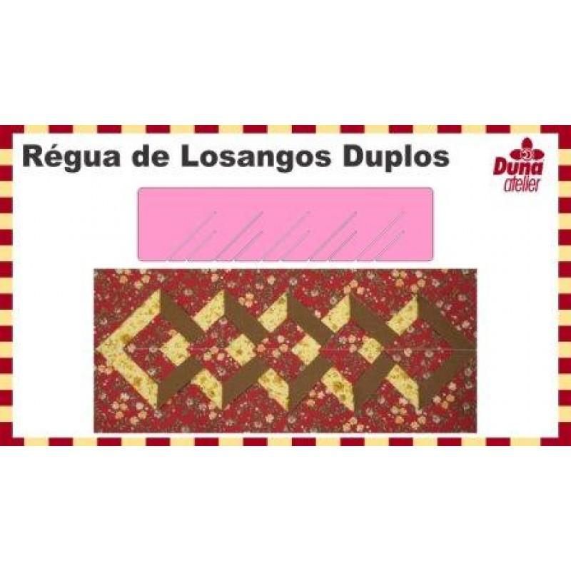 Régua de Losangos Duplos